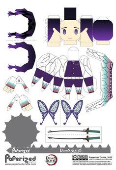 Anime Chibi, M Anime, Anime Demon, Otaku Anime, Kawaii Anime, Anime Art, Anime Diys, Anime Crafts, Paper Doll Template