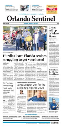 Orlando Sentinel Us Politics, New York Post, Florida, How To Get, Travel, Viajes, The Florida, Destinations