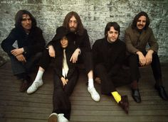 """George Harrison recalls """"being freaked out with Yoko. The four of us had been through a lot together and we were very close... most of the time. We weren't close all the time. I don't know. I thought we were very possessive of each other in a way. The wives and the girlfriends never came to the studio... THAT was when WE were together."""""""