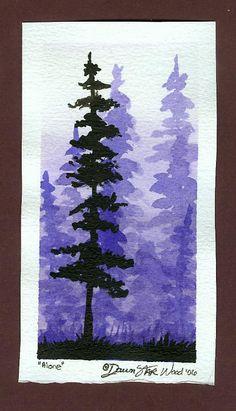 Alone postcard by DawnstarW.deviantart.com on @DeviantArt