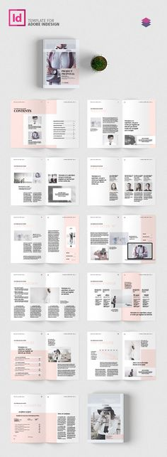 Trifold Brochure by FathurFateh on @creativemarket Graphic - blank brochure template word