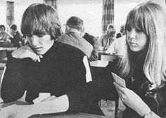 George and Pattie at the Hotel Edelweiss in Obertauern, March 1965.