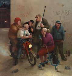 ... by Marius van Dokkum - Dutch Artist and Illustrator