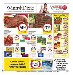 Winn Dixie Weekly Ad October 28 - November 3, 2015 - http://www.olcatalog.com/grocery/winn-dixie-weekly-ad.html