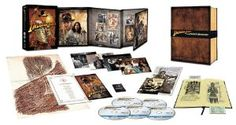 Amazon.com: Indiana Jones The Complete Adventures (Limited Edition Collectors Set) Blu-ray: Movies & TV