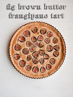 GF Fig Brown Butter Frangipane Tart