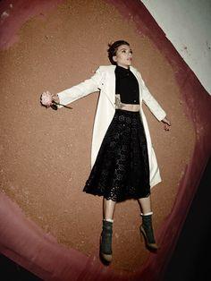 Scarlett Johansson - photographed by Michel Comte for Flaunt Magazine, 2016