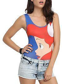 HOTTOPIC.COM - Disney The Little Mermaid Ariel Bodysuit