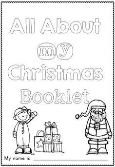 All About My Christmas Craftivity and Printables A simple Christmas Craftivity for and possibly grade 2 students. Christmas Math, Christmas Activities, Simple Christmas, Christmas Themes, Winter Christmas, Preschool Activities, Holiday Ideas, Christmas Crafts, Xmas