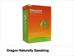 Dragon NaturallySpeaking  For the boss who finds it easier to talk than to type, Dragon speech-recognition software (from Nuance Communications) is an ideal stocking stuffer. Instead of pecking out emails and other documents one letter at a time, Dragon products turn your spoken words into typed text in popular office applications