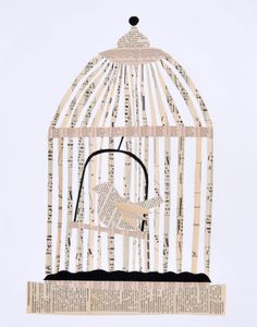 Bird in a Cage. Just in case you love birds, but don't want a real one, this is perfect! It's quite and doesn't need to be fed.