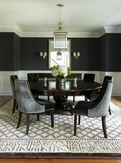 Chalkboard Accents In Dining Room Spaces Sculpture Dining - Chalkboard accents dining rooms