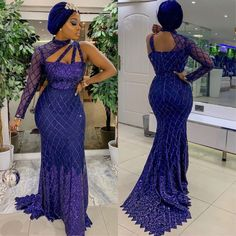 The most beautiful collection ankara aso ebi styles of 2018 you must try. These beautiful aso ebi are very exotic Aso Ebi Lace Styles, African Lace Styles, Lace Dress Styles, Latest Aso Ebi Styles, African Style, African Prom Dresses, Latest African Fashion Dresses, African Print Fashion, Nigerian Dress Styles