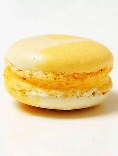 macaron citron bergamote, vanille et poivre de madagascar