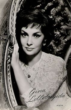 Gina Lollobrigida - what a beauty!