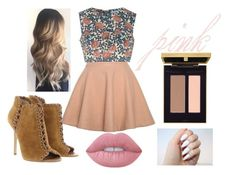 """""""Untitled #3"""" by isabelmauldin on Polyvore featuring beauty, Relaxfeel, Glamorous, Michael Kors and Lime Crime"""