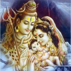 Shiva Family Via Mere Shiv Shankar Bhole Baba