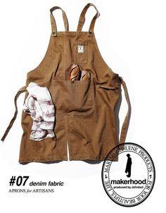 エプロン_7                                                                                                                                                      もっと見る Chill Outfits, Cute Outfits, Farmer Outfit, Cafe Apron, Gardening Apron, Organic Gardening, Work Aprons, Sewing Circles, Leather Apron
