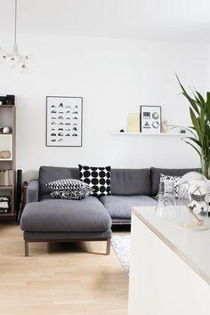 Beautiful living room via Coco Lapine Design blog.