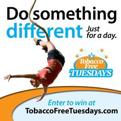 First Tuesday, Enter To Win, Something To Do, Challenges, Smoke Free