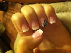 my leopard nails!
