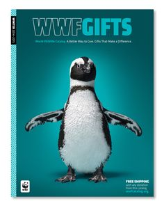 DJ Stout and his team at Pentagram have redesigned the annual gift catalog for World Wildlife Fund.