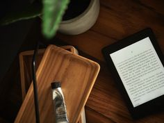 A cleaner nightstand, thanks to @amazonkindle ! #kindle #partner