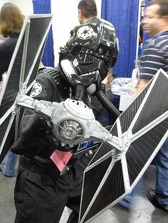 tie fighter costume   tie fighter pilot