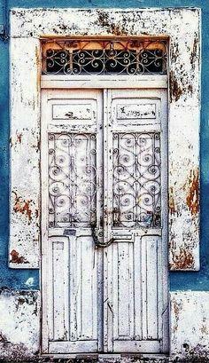 shabby #door ~ETS