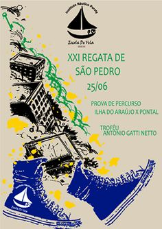 """Instituto Náutico Paraty INP  Está quase na hora!! Chegamos à vigésima primeira edição da Regata de São Pedro e dessa vez com novidades! Uma carinhosa homenagem através da premiação """"Troféu Antonio Gatti Netto"""" e o percurso Ilha do Araújo - Pontal Paraty. Não perca essa!!! No dia 25 / 06, sábado. Programe-se!  #exposição #evento #festival #música #fotografia #arte #cultura #turismo #VisiteParaty #TurismoParaty #Paraty #PousadaDoCareca #PartiuBrasil #MTur #boatarde #boatardee"""
