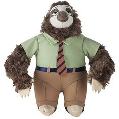 Zootopia Large Plush Flash ** Want additional info? Click on the image. (This is an affiliate link) #StuffedAnimalsTeddyBears