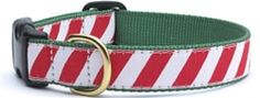 Peppermint Stick Stripe Collar