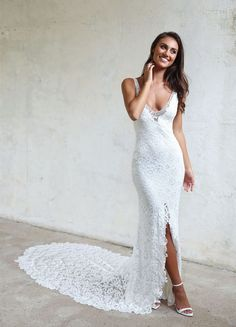 For the boho bride - Grace Loves Lace Gia Wedding Gown