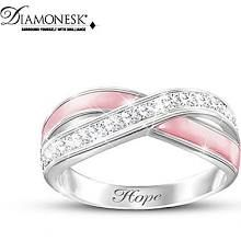 Breast cancer support ring