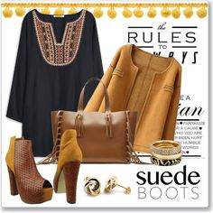 Style Staple: Suede Boots