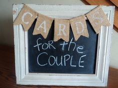 Cards burlap mini banner, Wedding cards banner, Hand stenciled banner, Burlap banner wedding, special occasions card banner, FREE SHIPPING