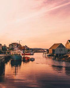 Peggy's Cove (Nova Scotia) by thatdudeCURT (@curtisdauphney) on Instagram