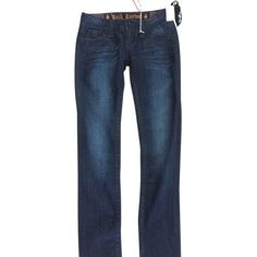 Pre-owned Rock Revival Skinny Jeans ($87) ❤ liked on Polyvore