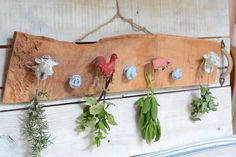 DIY Herb Drying Rack - All Things Heart and Home