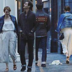 海外セレブニュース&ファッションスナップ: 【エマ・ストーン&アンドリュー・ガーフィールド】ロンドンで一緒に歩いているところをキャッチされる!