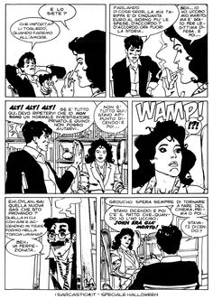 Pagina 09 - L'alba dei morti viventi - lo speciale #Halloween de #iSarcastici4. #LuccaCG15 #DylanDog #fumetti #comics #bonelli