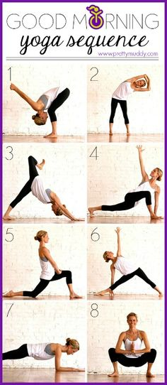 Start your mornings with this Pretty Great yoga sequence #toneituptuesday #prettymuddy