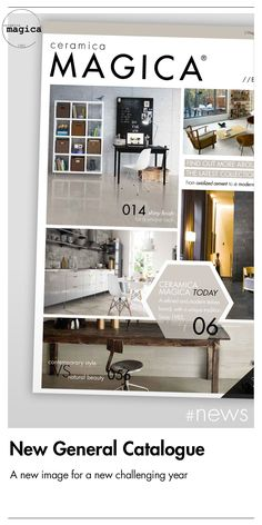 Ceramica Magica is glad to unveil its new Catalogue 2016!  Check it out at earliest opportunity!  #newstorysince1983 #excellenceisanart #ceramics #ceramica #porcelain #terracotta #tile #design #madeinitaly #cersaie2016 #cersaie #coverings2016 #coverings #catalog #catalog2016 #newcatalog #interiordesign #exteriordesign #homedesign #catalogue  #magica1983 #download #products #ceramicsofitaly #stone #basalt #cement