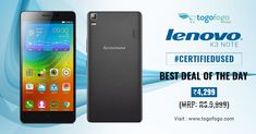 Today's best deal from #Togofogo Now get #CertifiedUsed Version Of #Lenovo K3 Note at Just Rs.4,299 (MRP: Rs.9,999) - https://bit.ly/2M4lWHn  Hurry! Offer is just for the limited time period.