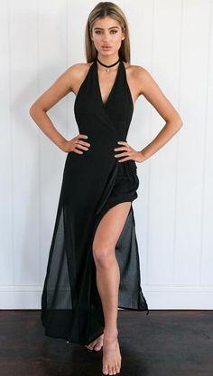 Beginning To End Dress (Black)