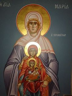 An Icon of Christ's Maternal Lineage | MYSTAGOGY RESOURCE CENTER