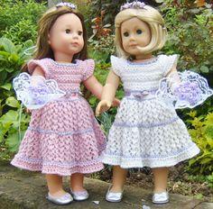 21 American Girl Doll. Top-Down Flower Girl Dress PDF par jacknitss