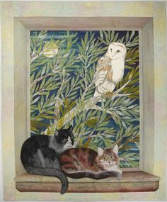 """""""The Owl and the Pussycats"""" by Betty Busby"""