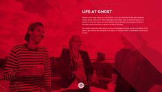 About from Ghost | PatternTap | ZURB Library