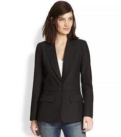 Fall Trends 2014 | Blazers | Smyth 2 for 1 Detachable Wool Blazer via @WhoWhatWear